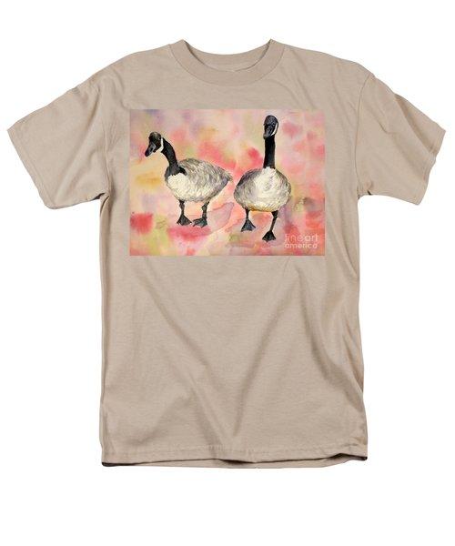 Dancing Geese Men's T-Shirt  (Regular Fit)