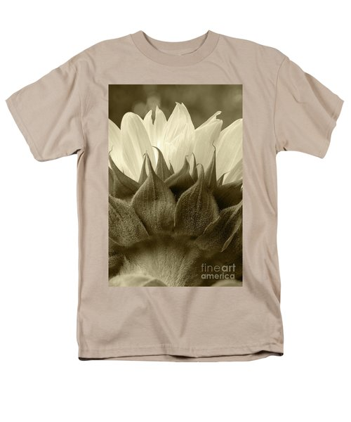 Men's T-Shirt  (Regular Fit) featuring the photograph Dandelion In Sepia by Micah May