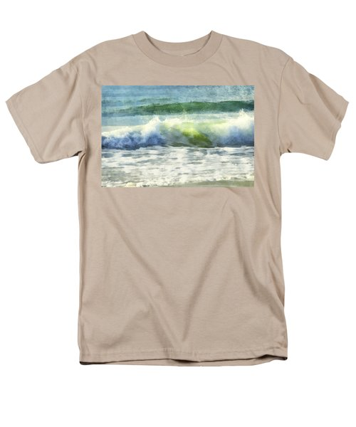 Men's T-Shirt  (Regular Fit) featuring the digital art Dawn Wave by Francesa Miller