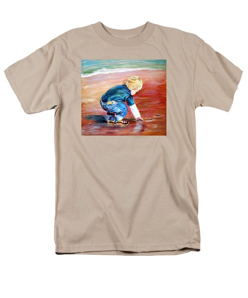 Day At The Beach Men's T-Shirt  (Regular Fit) by Patricia Piffath