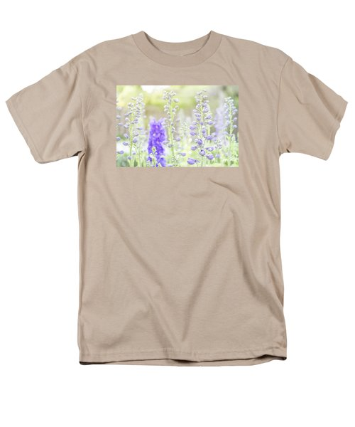Delphiniums Men's T-Shirt  (Regular Fit) by Mary Angelini