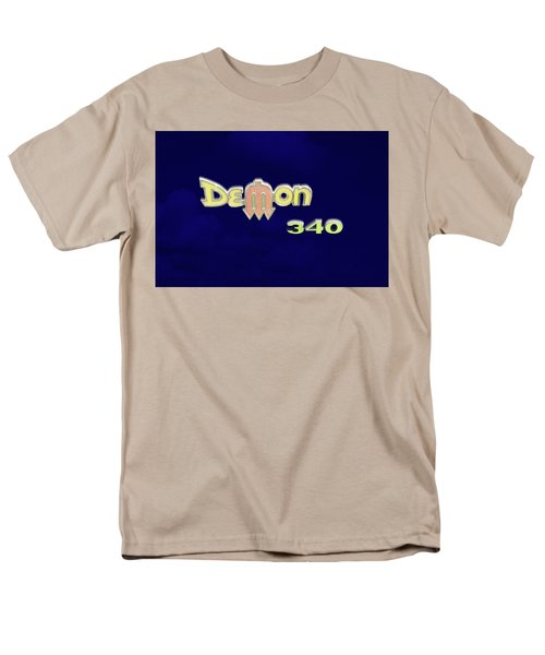 Men's T-Shirt  (Regular Fit) featuring the photograph Demon 340 Emblem by Mike McGlothlen