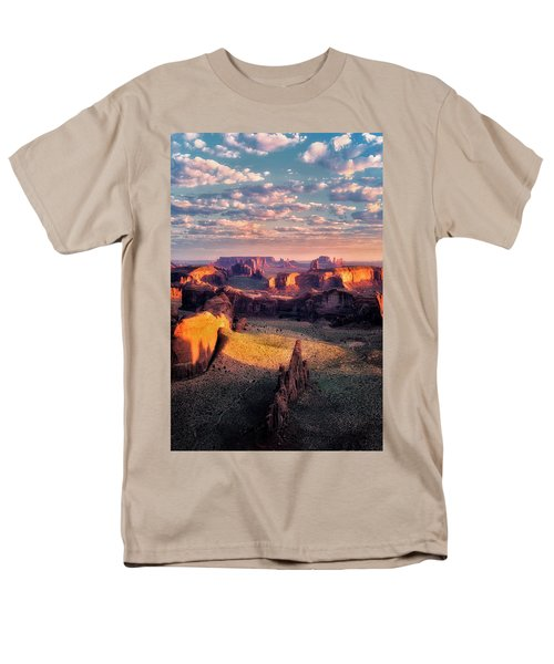 Desert Glow   Men's T-Shirt  (Regular Fit) by Nicki Frates