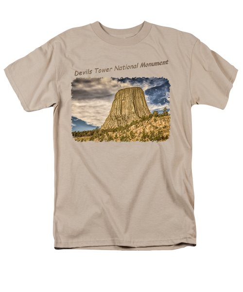 Devils Tower Inspiration 2 Men's T-Shirt  (Regular Fit) by John M Bailey