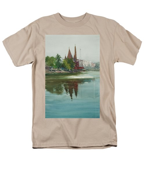 Dhanmondi Lake 04 Men's T-Shirt  (Regular Fit) by Helal Uddin