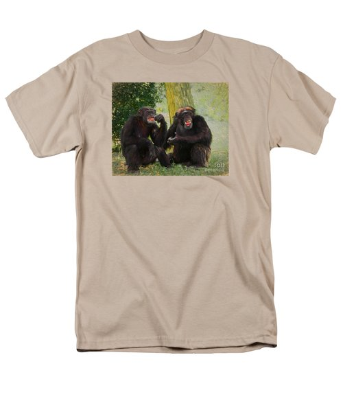 Men's T-Shirt  (Regular Fit) featuring the painting Did You See That by Judy Kay