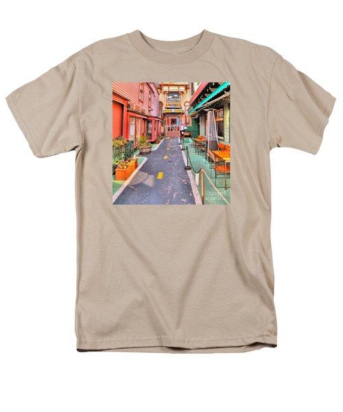 Dink's Taxi Bar Harbor Men's T-Shirt  (Regular Fit) by Debbie Stahre