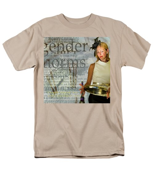 Domestic Considerations  Gender Norms Men's T-Shirt  (Regular Fit) by Ann Tracy