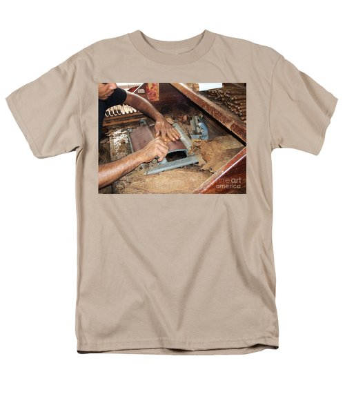 Dominican Cigars Made By Hand Men's T-Shirt  (Regular Fit) by Heather Kirk