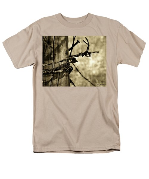 Don't Fence Me In 2 Men's T-Shirt  (Regular Fit) by Betty Northcutt