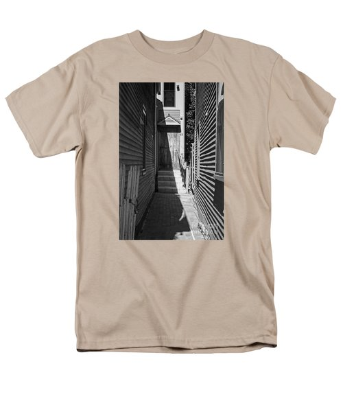 Door In An Alley Men's T-Shirt  (Regular Fit) by Kevin Fortier