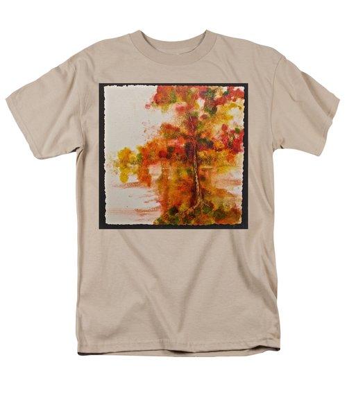 Double Reflection Men's T-Shirt  (Regular Fit)