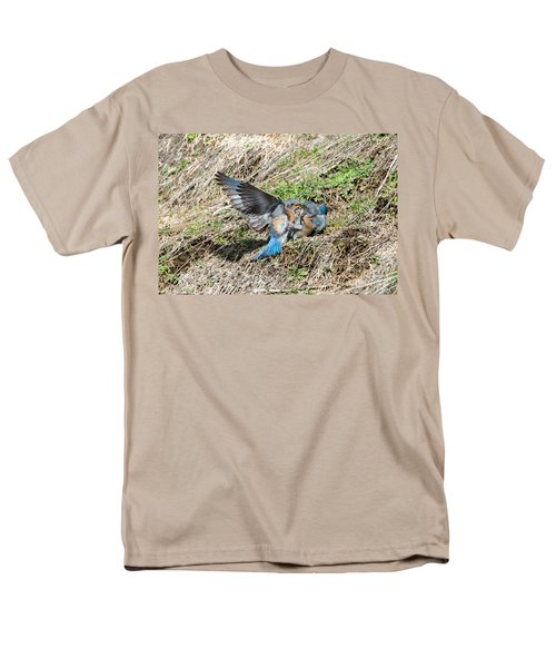 Men's T-Shirt  (Regular Fit) featuring the photograph Down For The Count by Mike Dawson