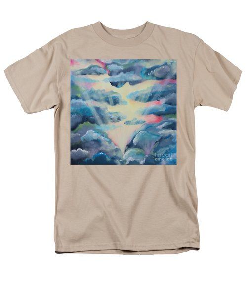 Men's T-Shirt  (Regular Fit) featuring the painting Dream by Stacey Zimmerman