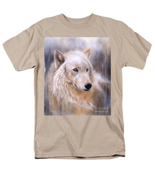 Dreamscape - Wolf II Men's T-Shirt  (Regular Fit) by Sandi Baker