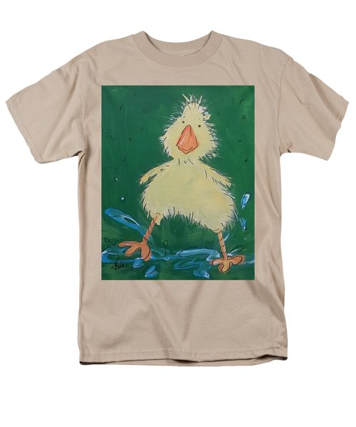 Duckling 1 Men's T-Shirt  (Regular Fit) by Terri Einer