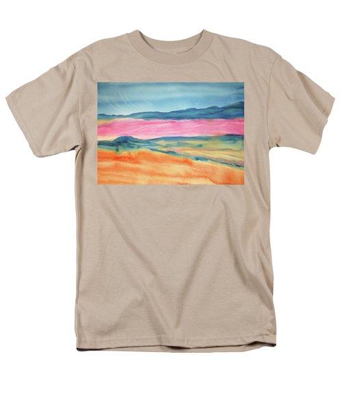Men's T-Shirt  (Regular Fit) featuring the painting Dunes by Ellen Levinson