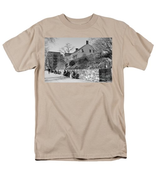 Men's T-Shirt  (Regular Fit) featuring the photograph Dyckman Farmhouse  by Cole Thompson