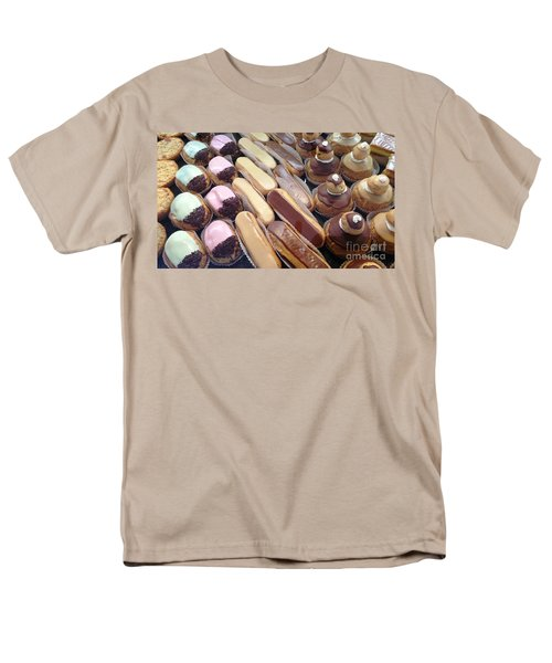 Men's T-Shirt  (Regular Fit) featuring the photograph Eclaires by Therese Alcorn