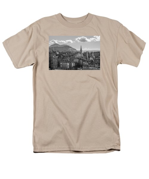 Edinburgh - Arthur's Seat Men's T-Shirt  (Regular Fit) by Amy Fearn