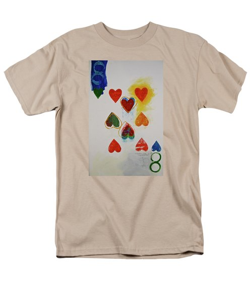 Eight Of Hearts 9-52  2nd Series  Men's T-Shirt  (Regular Fit) by Cliff Spohn
