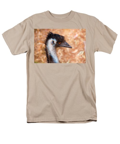 Emu Profile Men's T-Shirt  (Regular Fit) by Mike  Dawson