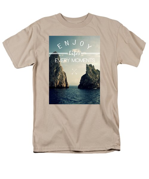 Enjoy Life Every Momens Men's T-Shirt  (Regular Fit) by Mark Ashkenazi