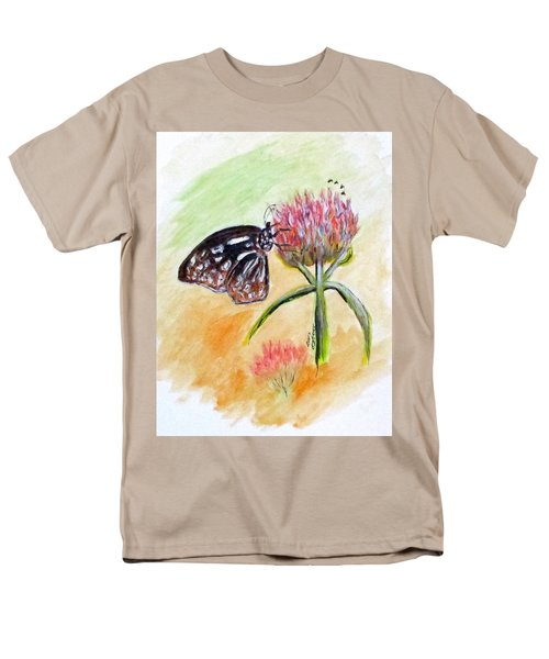 Erika's Butterfly Two Men's T-Shirt  (Regular Fit) by Clyde J Kell