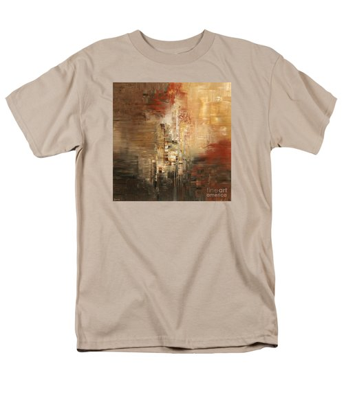 Men's T-Shirt  (Regular Fit) featuring the painting Essential Connection by Tatiana Iliina