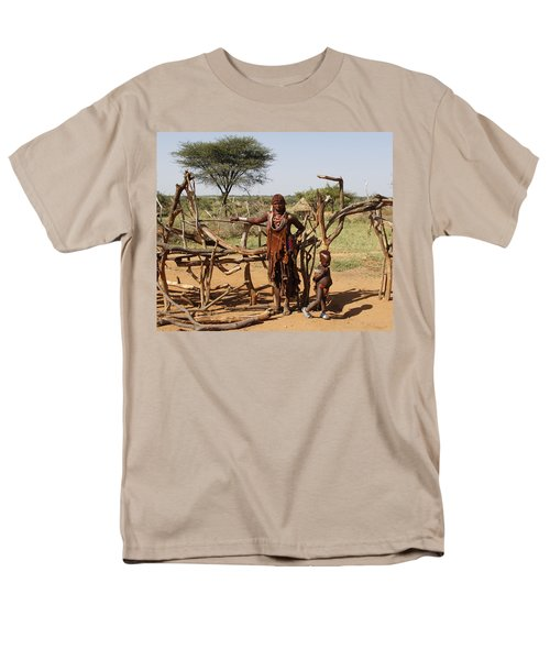 Ethiopia-south Mother And Baby No.2 Men's T-Shirt  (Regular Fit) by Robert SORENSEN