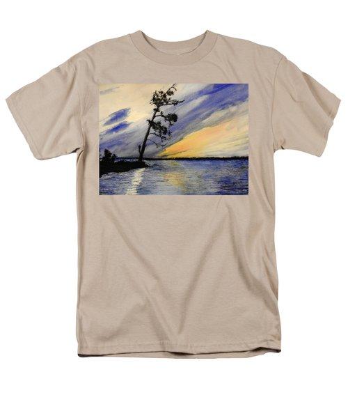 Evening At Petrie Island Men's T-Shirt  (Regular Fit) by Betty-Anne McDonald