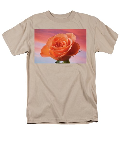 Men's T-Shirt  (Regular Fit) featuring the photograph Evening Rose by Terence Davis
