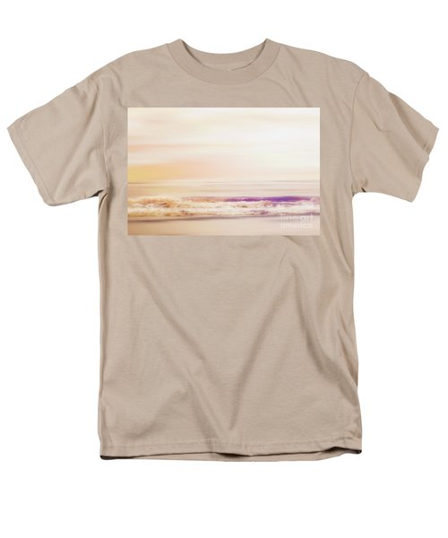 Expression - Dreams On The Shore Men's T-Shirt  (Regular Fit) by Janie Johnson