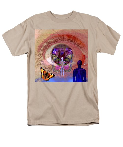 Eye Solar Men's T-Shirt  (Regular Fit)
