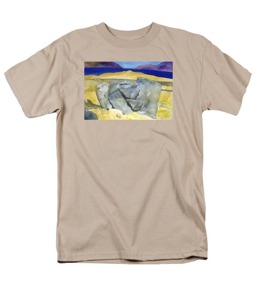 Faces Of The Rocks Men's T-Shirt  (Regular Fit)