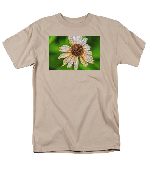 Faded Cone Flower Men's T-Shirt  (Regular Fit) by Tom Singleton