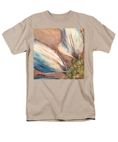 Men's T-Shirt  (Regular Fit) featuring the drawing Faded Glory  by Vonda Lawson-Rosa