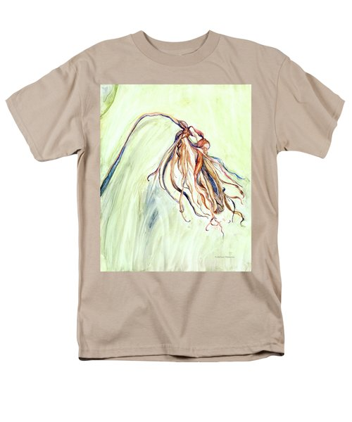 Men's T-Shirt  (Regular Fit) featuring the painting Faded by Nadine Dennis