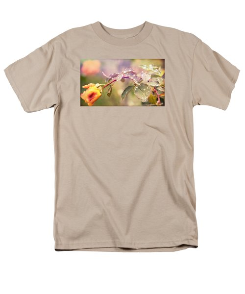 Men's T-Shirt  (Regular Fit) featuring the photograph Fairy Drops by Cathy Donohoue