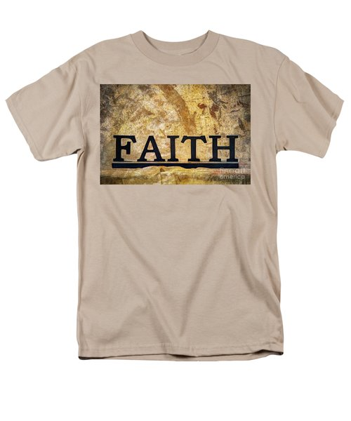 Faith Men's T-Shirt  (Regular Fit) by Randy Steele