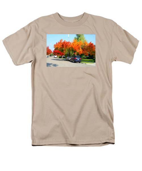 Fall In The City Men's T-Shirt  (Regular Fit)