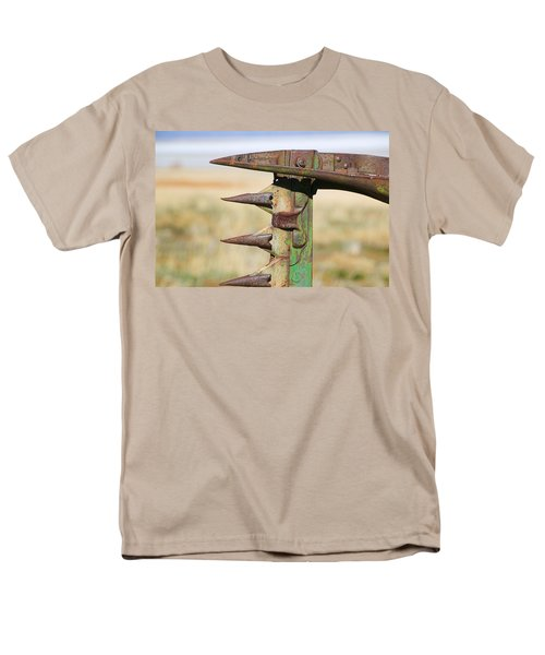Men's T-Shirt  (Regular Fit) featuring the photograph Farm Equipment 1 by Ely Arsha