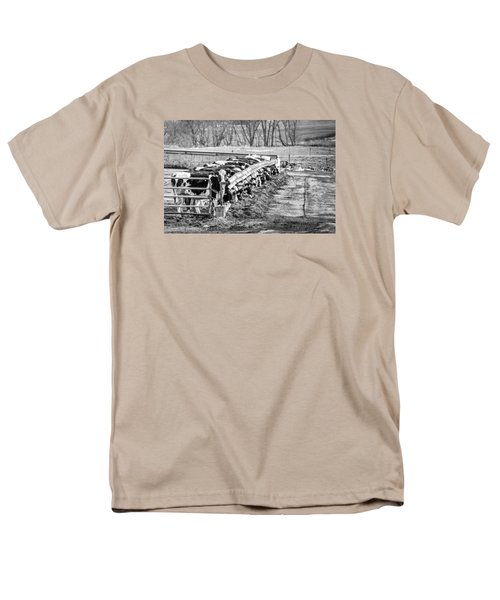 Feedlot Men's T-Shirt  (Regular Fit) by Dan Traun
