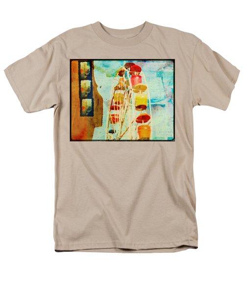 Ferris Wheel Fun Men's T-Shirt  (Regular Fit) by Toni Hopper