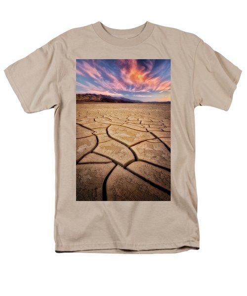Field Of Cracks Men's T-Shirt  (Regular Fit) by Nicki Frates