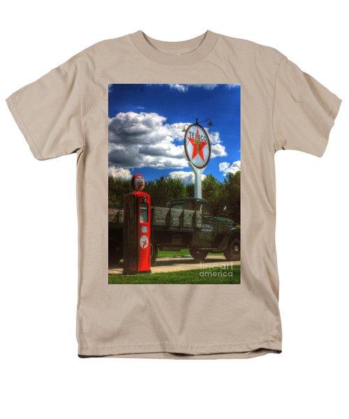 Men's T-Shirt  (Regular Fit) featuring the photograph Fire Chief by Randy Pollard