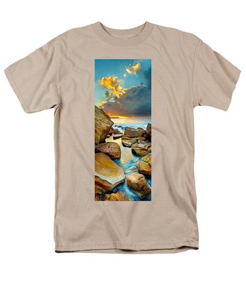 Fire In The Sky Men's T-Shirt  (Regular Fit) by Az Jackson