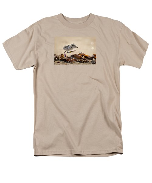 First Steps Men's T-Shirt  (Regular Fit) by Alice Cahill