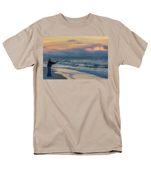 Men's T-Shirt  (Regular Fit) featuring the photograph Fish On In Alabama  by John McGraw