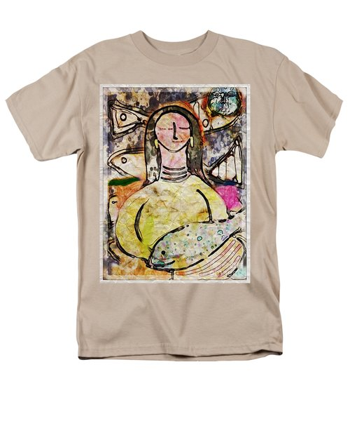 Men's T-Shirt  (Regular Fit) featuring the digital art Fishmonger's Wife by Alexis Rotella